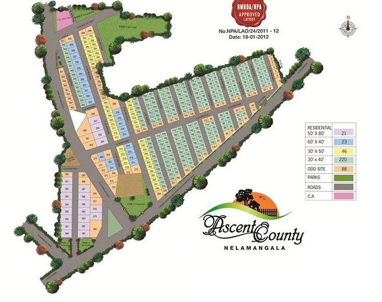 Ascent County Plot - Master Plan