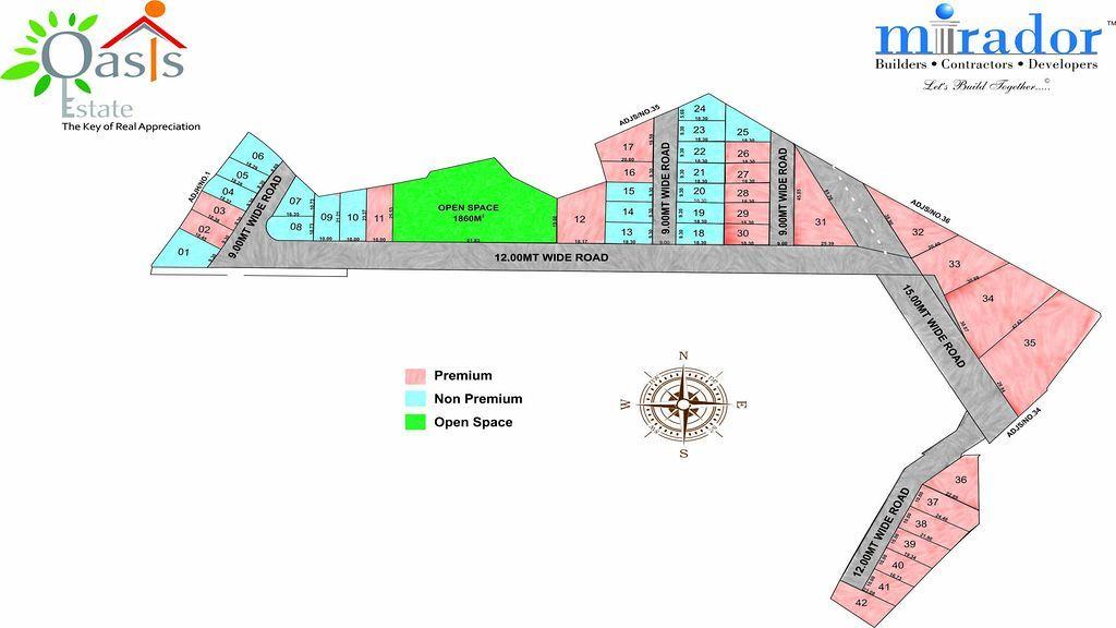 Mirador Oasis Estate Phase I - Master Plan