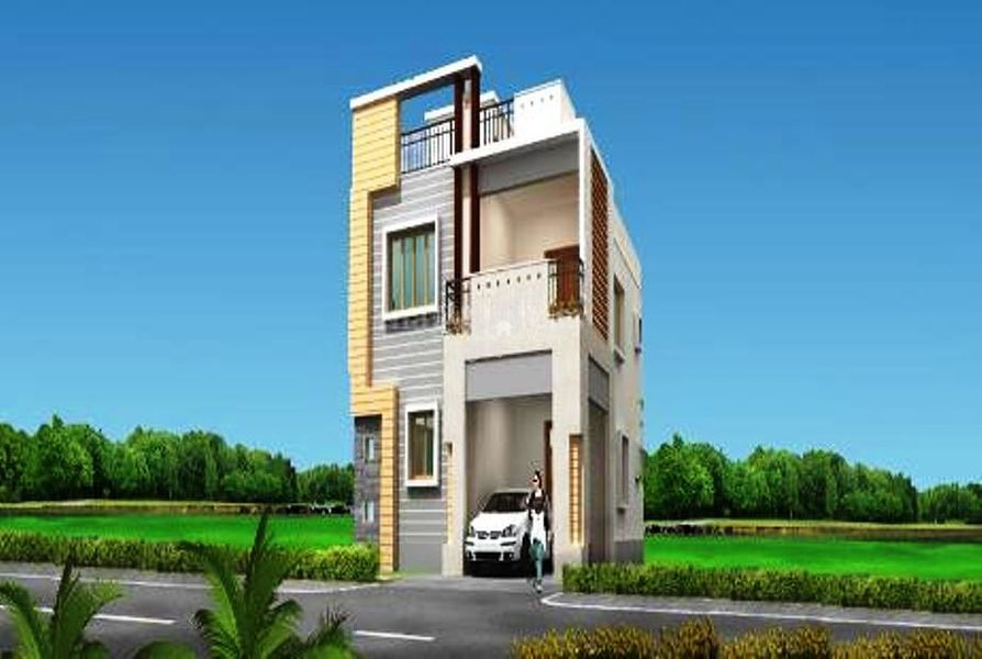 SRR Brindavan Gardens Plot - Elevation Photo