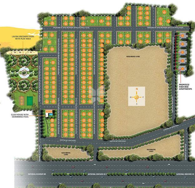Subhagruha SunCity - Master Plans