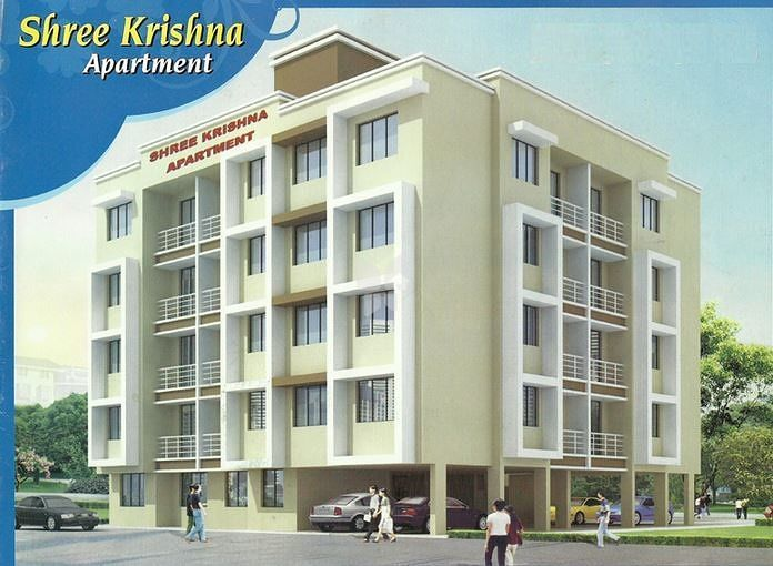 Ajay Raj Shree Krishna Apartment - Elevation Photo