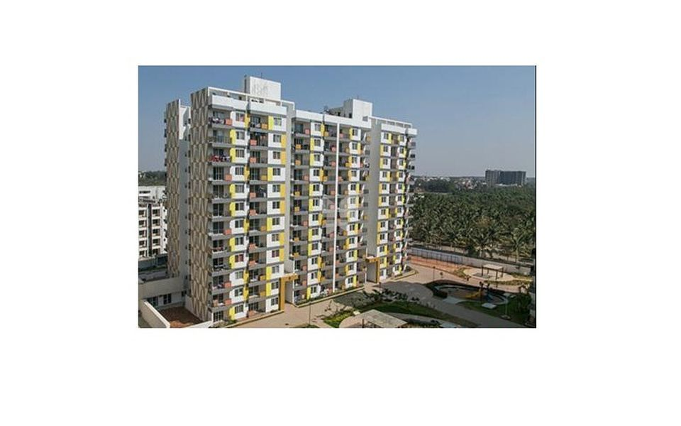 Adarsh Palm Retreat Tower II - Elevation Photo