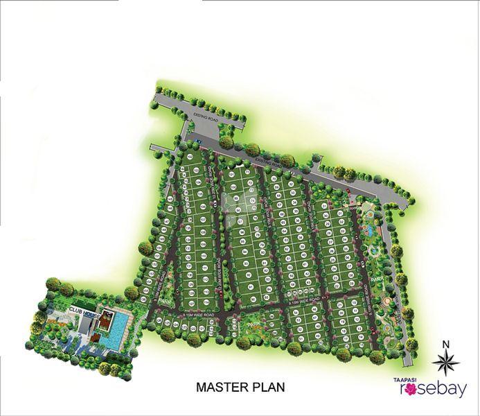 Taapasi Rosebay - Master Plan