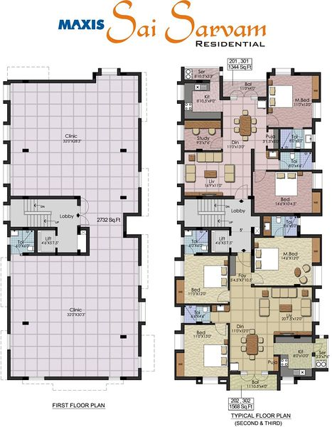 Projects by Maxis Constructions Co in Chennai - Roofandfloor
