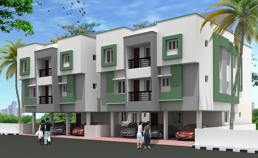 Jas Twin Homes - Elevation Photo
