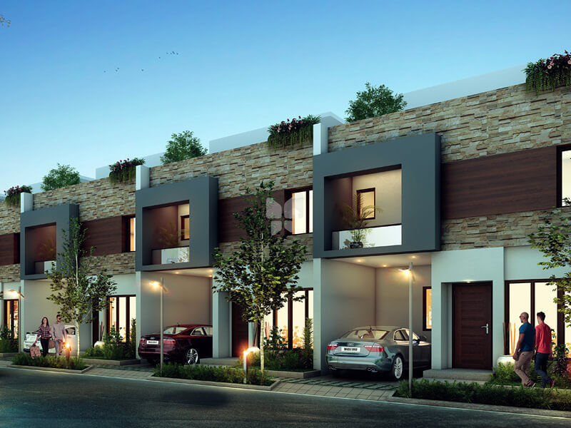 Tvh aurora township in singanallur coimbatore price for Best row house design