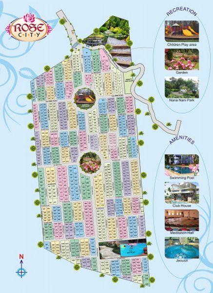 Temple Rose City Plot Phase I - Master Plans