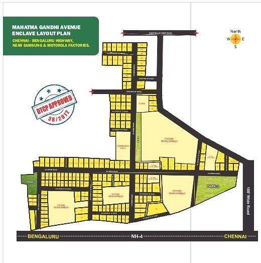 Mahatma Gandhi Avenue  - Master Plans