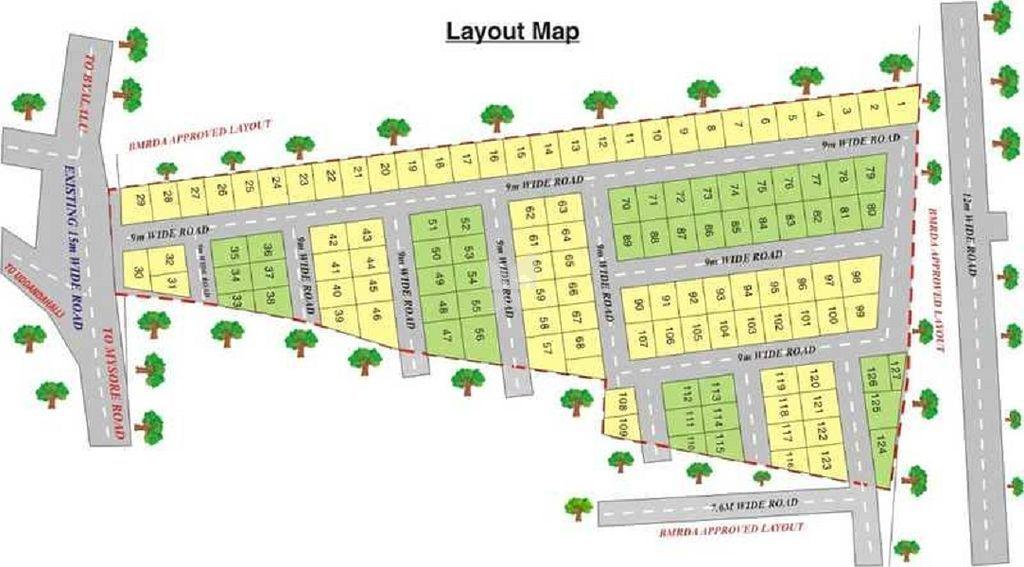 ABD Sumukha Enclave - Master Plan