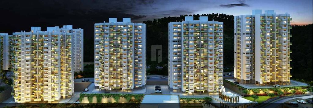 Kolte Patil Moonstone - Elevation Photo