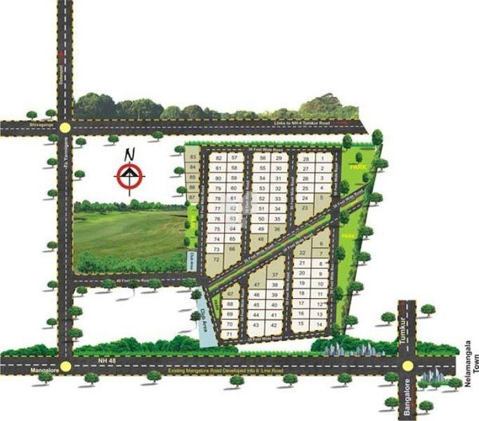 Sri Saikrishna Villas - Master Plan