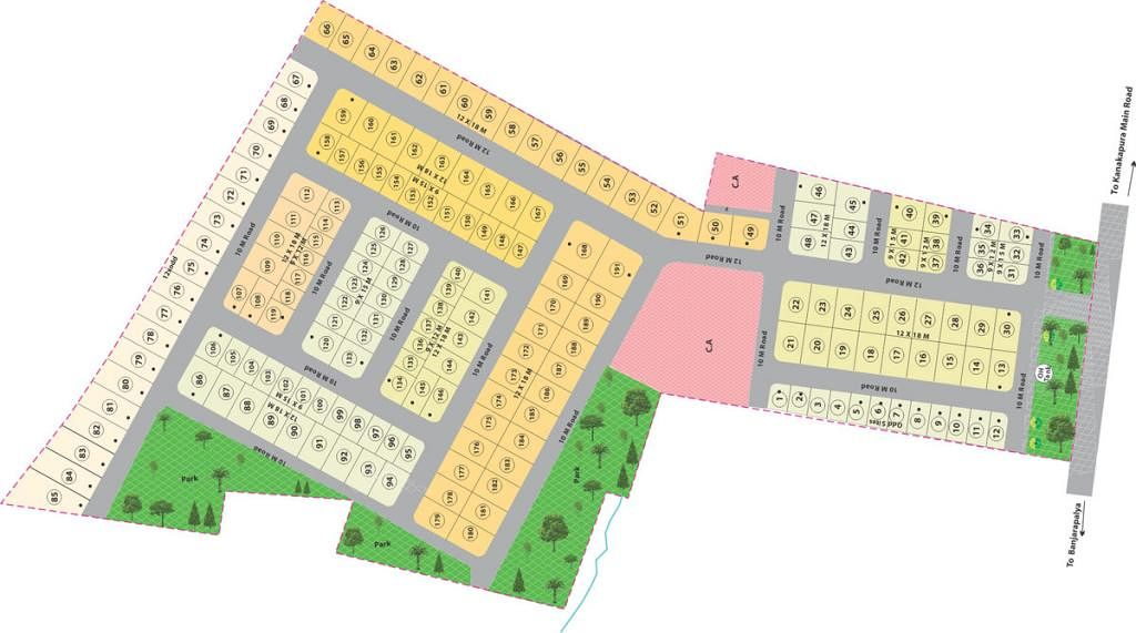 Nanda Prakruthi - Master Plan