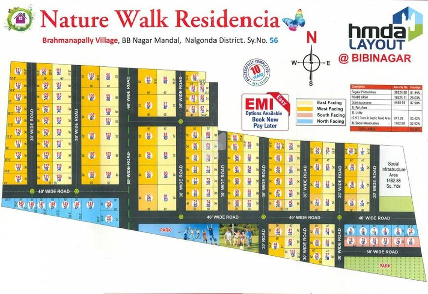 Nature Walk Residencia - Master Plans