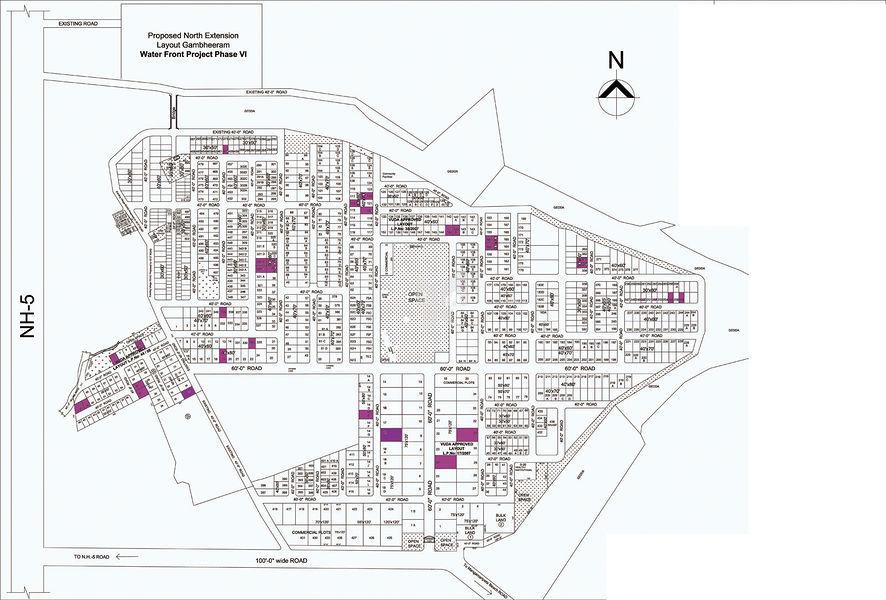 Chilukuri Brundavan Estates - Master Plans