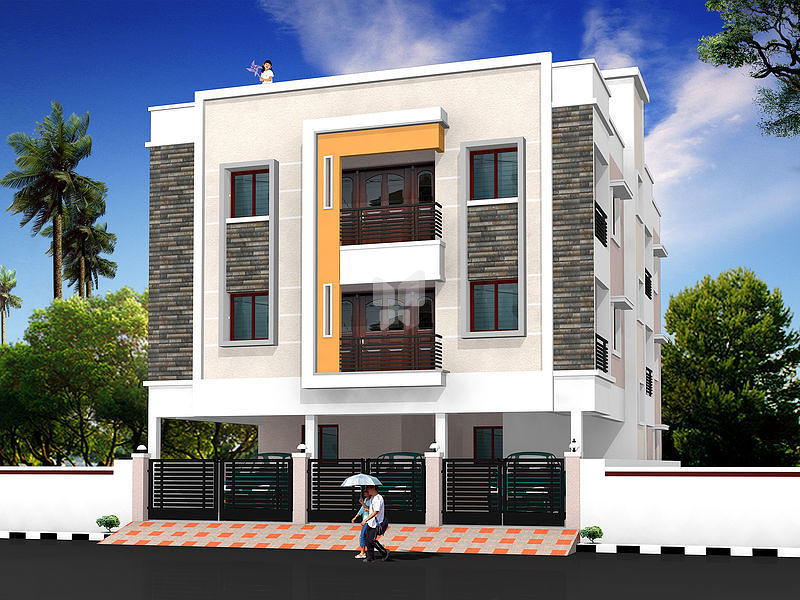 Vishnu Kalyani Flats - Elevation Photo
