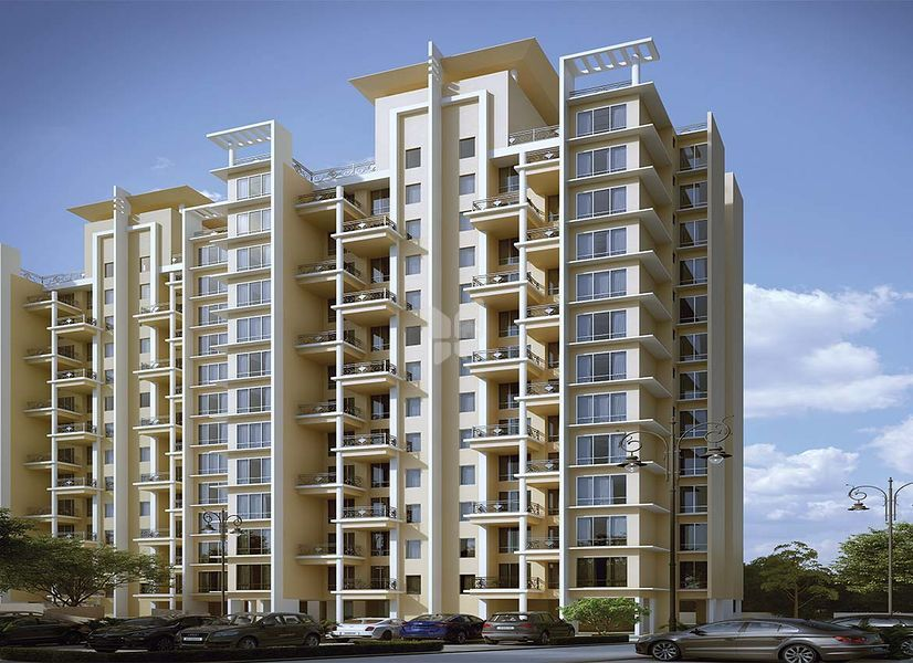 Amit Colori Phase III G Building - Elevation Photo