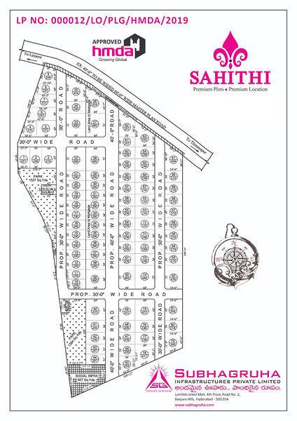 Subhagruha Sahithi - Master Plan
