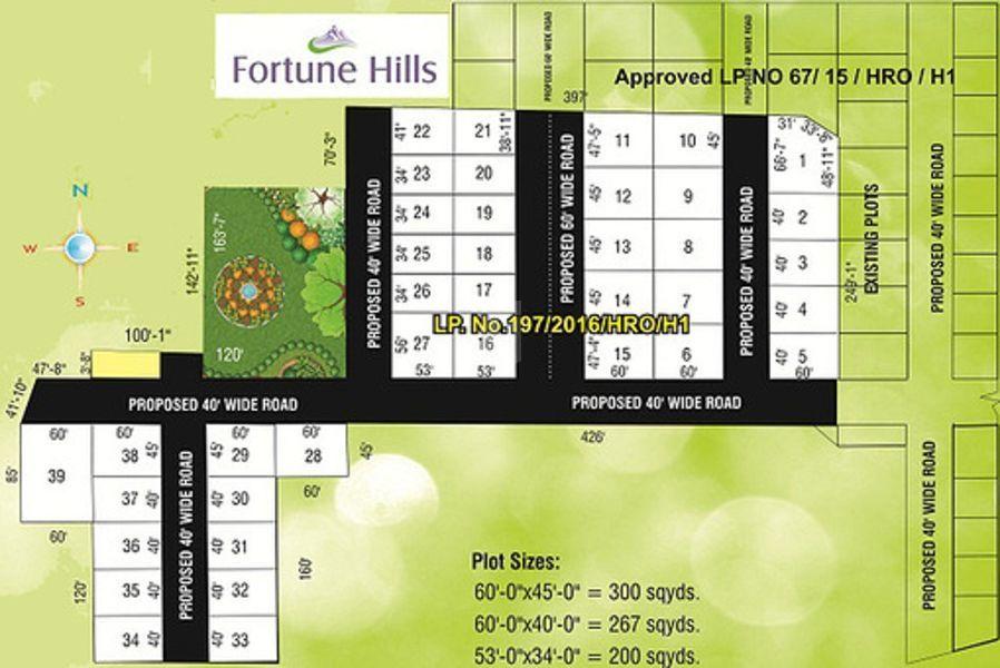 Fortune Infra Hills - Master Plan