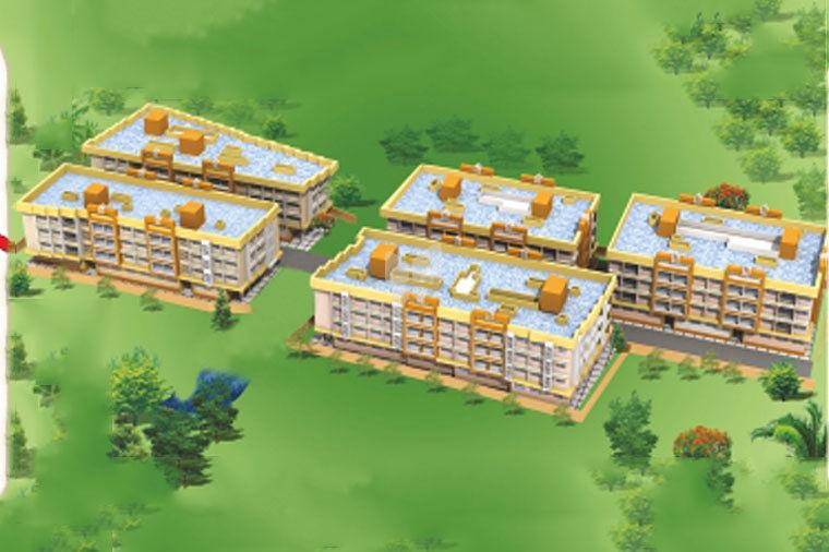 Nirmiti Rajmata Complex - Project Images