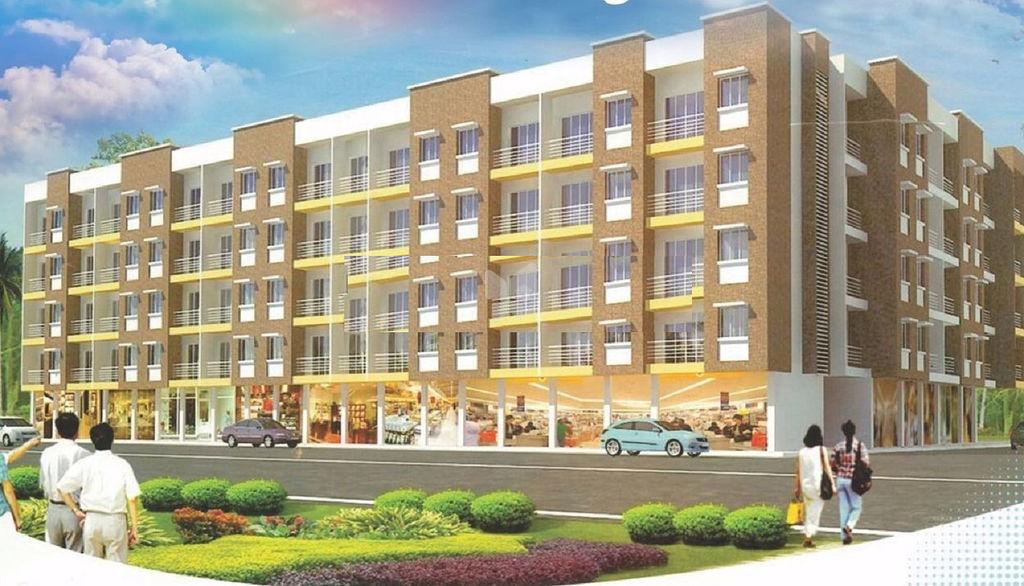 Malhar Buildcon Shree Plaza - Elevation Photo