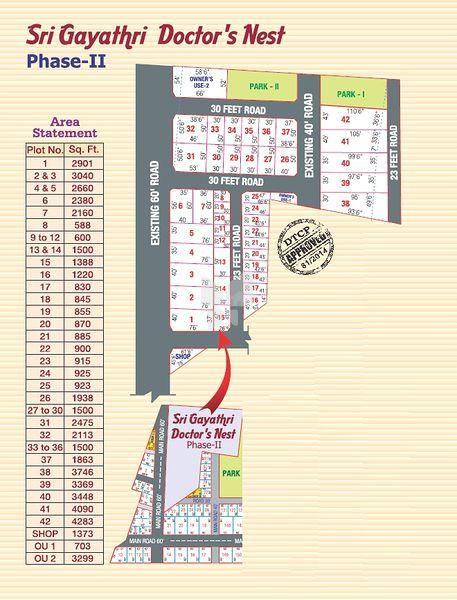 Altis Sri Gayathri Doctors Nest Phase II - Master Plans