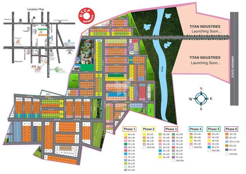 AVS Villas - Deflora - Master Plans