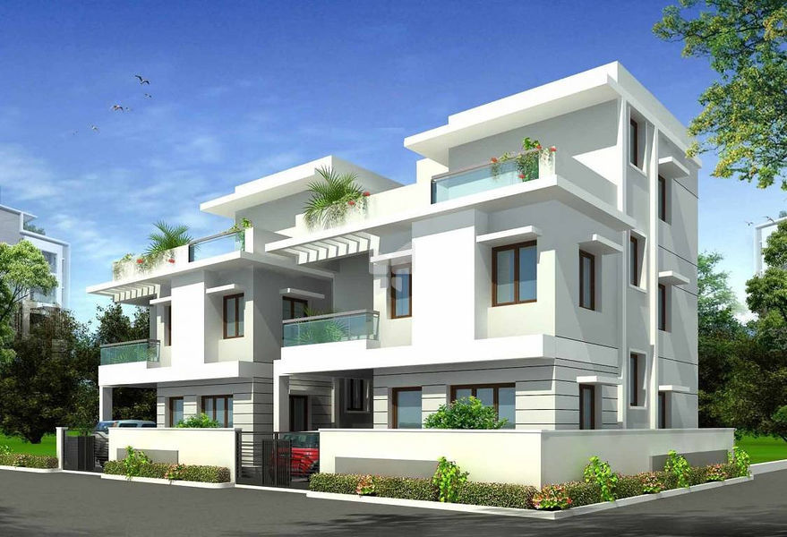 Sri Valasaravakkam Villa - Elevation Photo