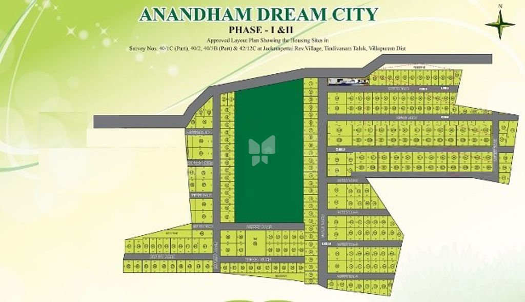 Anandham Dream City - Master Plans