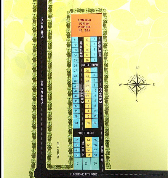 Sai Samruddi Layout - Master Plan