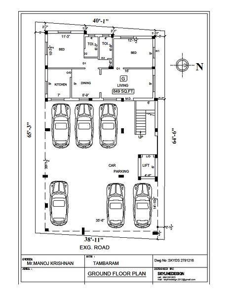 Top Of Bottom Floor Elevation Certificate : Vishnu madhura flats in chromepet chennai price floor