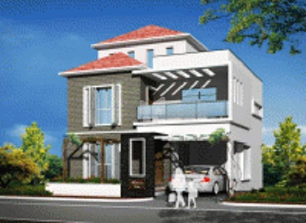 Jhanavi Picasso City Villa - Elevation Photo