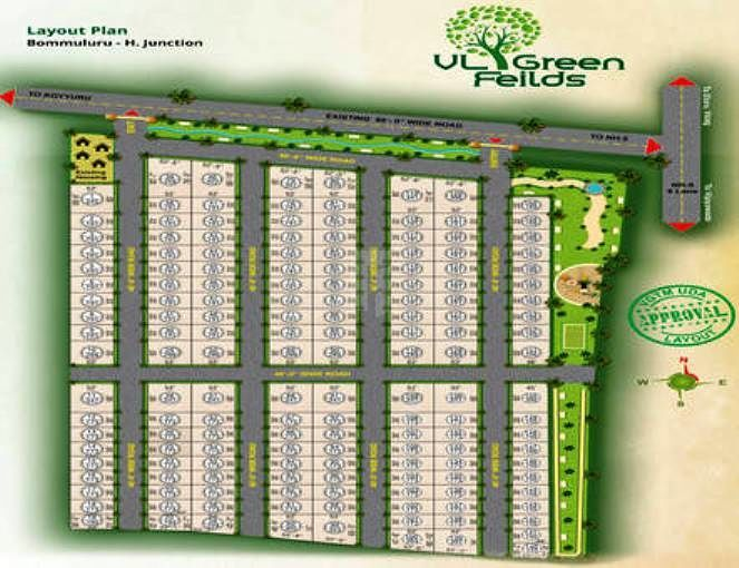 Vijaya Green Field - Master Plans