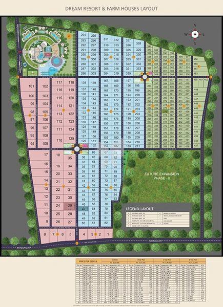 Dream Resort - Master Plans