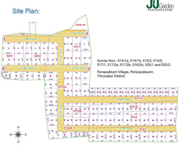 Ragam J.J.Garden Plots - Master Plans