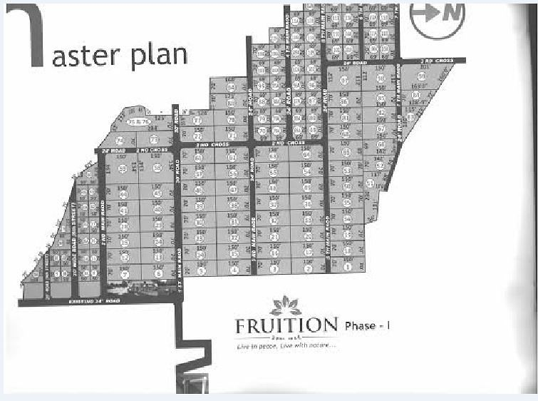 Fruition @ Kanchipuram - Master Plan