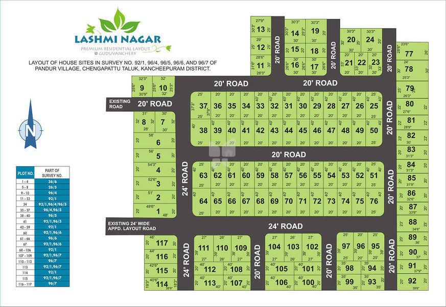 South Lashmi Nagar - Master Plans