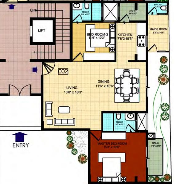 Sterling Park Apartments: Sterling Finsbury Park In Ulsoor, Bangalore