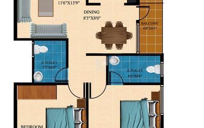 balaji-krupa-in-hebbal-floor-plan-2d-1asi