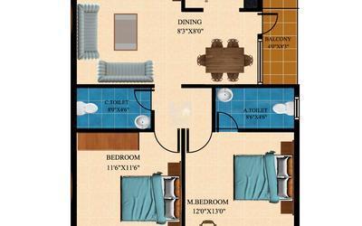 balaji-krupa-in-hebbal-floor-plan-2d-1asm