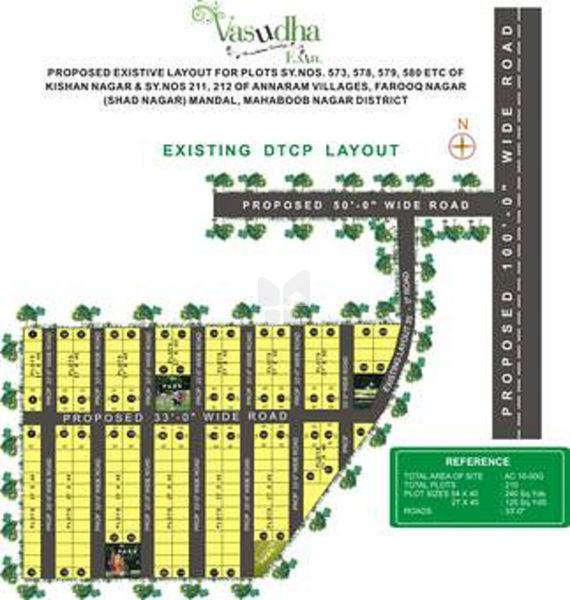 Shathabdhi Vasudha Extn - Master Plan