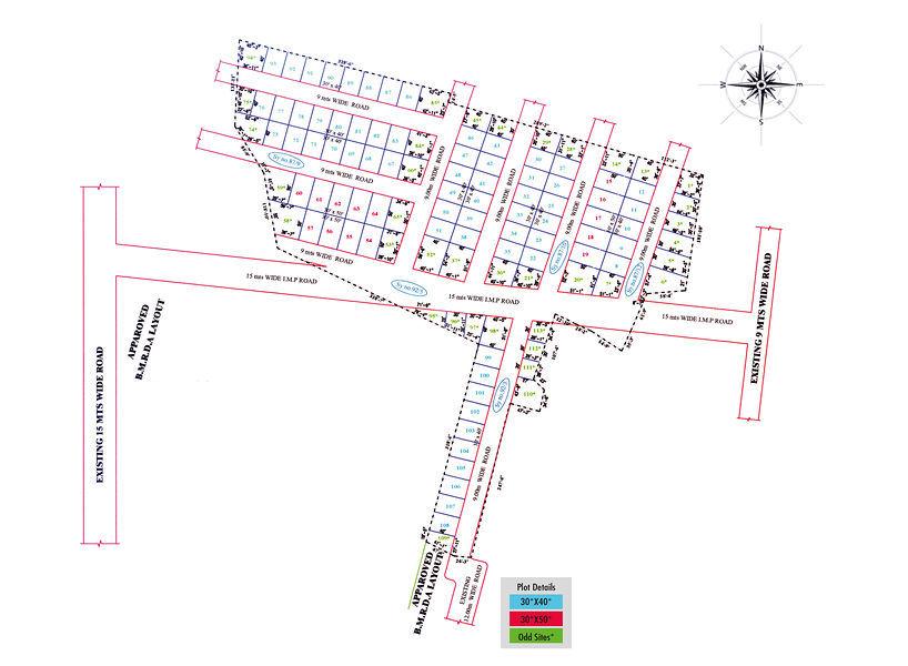 Panchamukhi Residency - Master Plans