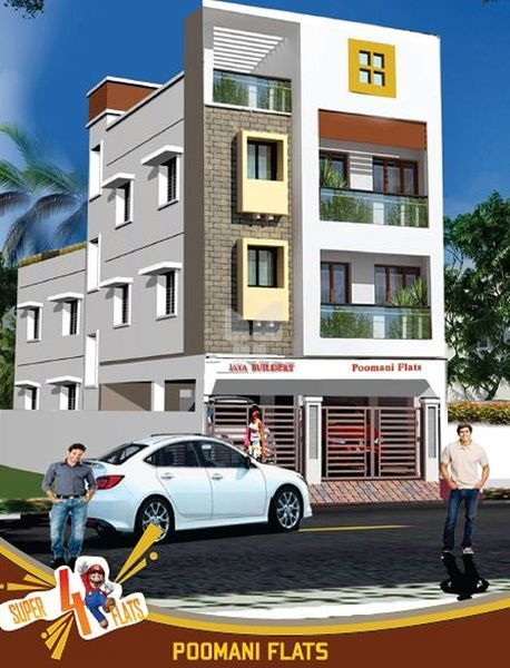 Jaya Poomani Flats - Elevation Photo