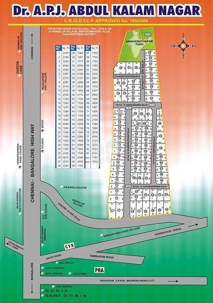 ABI Dr APJ Abdul Kalam Nagar - Master Plan