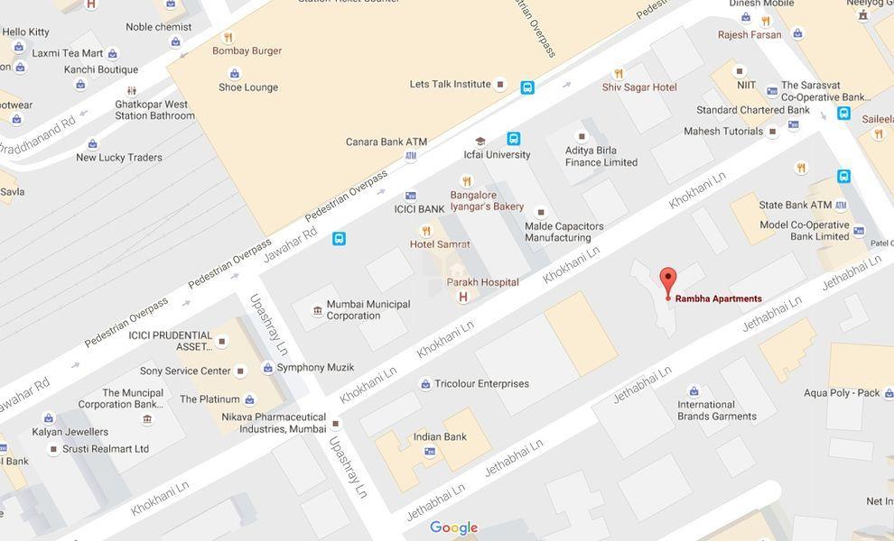 Neelkanth Rambha Apartments - Location Maps