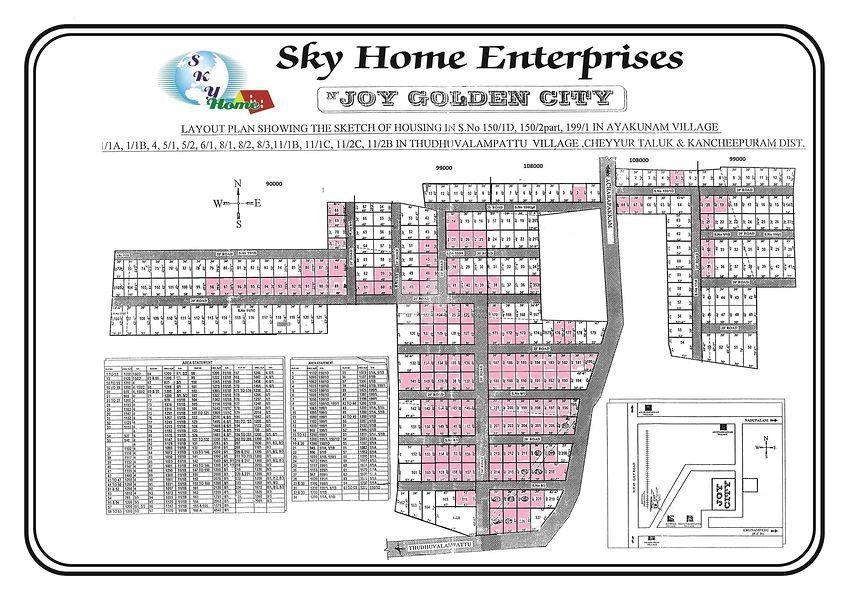 Sky Joy Golden City - Master Plan