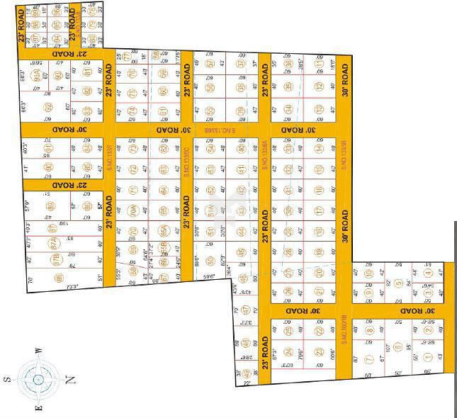 3t Aaradhana Gardens - Master Plan