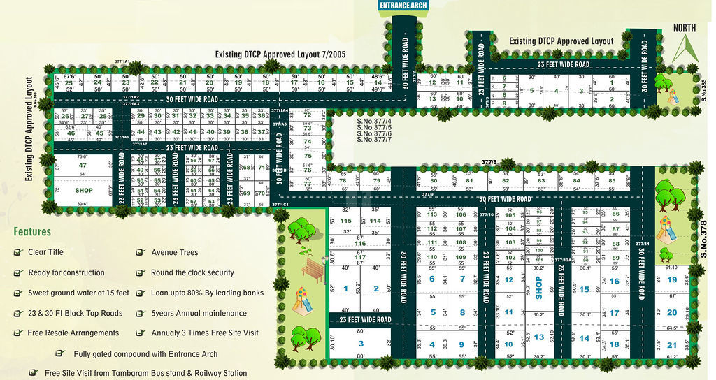 ABS SK Avenue Phase II - Master Plans