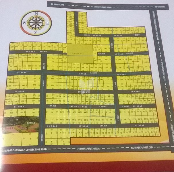 Kanchi Maha Nagar (Temple City) - Master Plans