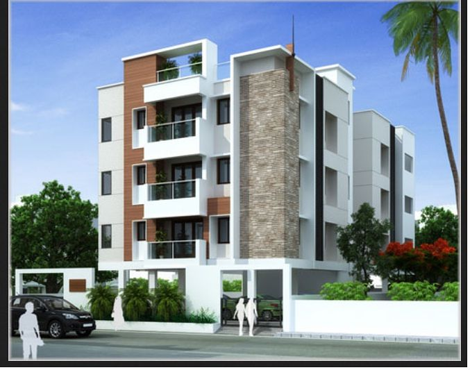 Grn 39 s sai karpagam in ashok nagar chennai price floor for Indian apartment plans with elevation