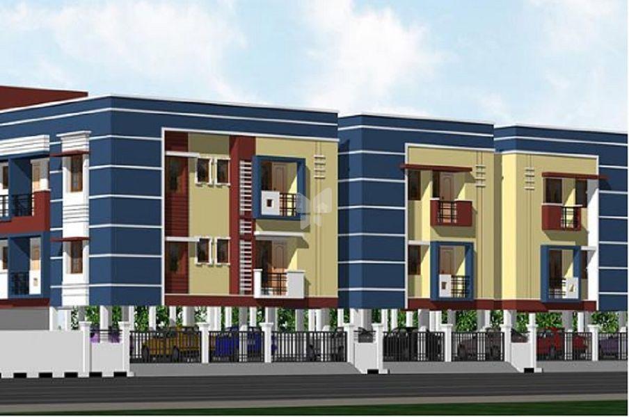Navaneetham Apartment - Elevation Photo